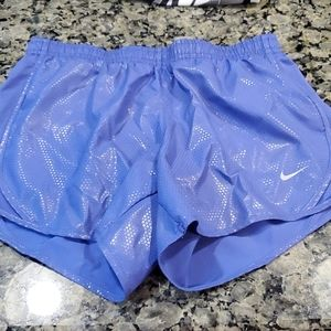 Purple Nike Shorts Girls Size Medium NWOT